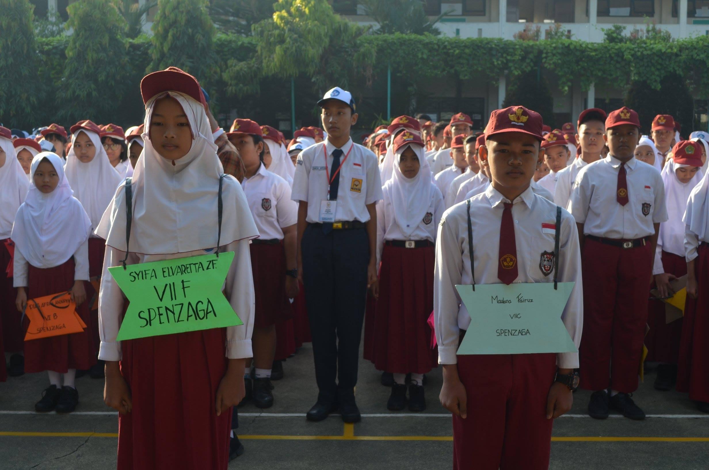 Kegiatan hari pertama masuk sekolah adalah Masa Pengenalan Lingkungan Sekolah (MPLS) . Yaitu istilah yang diberikan untuk penyelenggaraan kegiatan di tiga hari pertama masuk sekolah. Istilah ini dahulu dikenal dengan […]